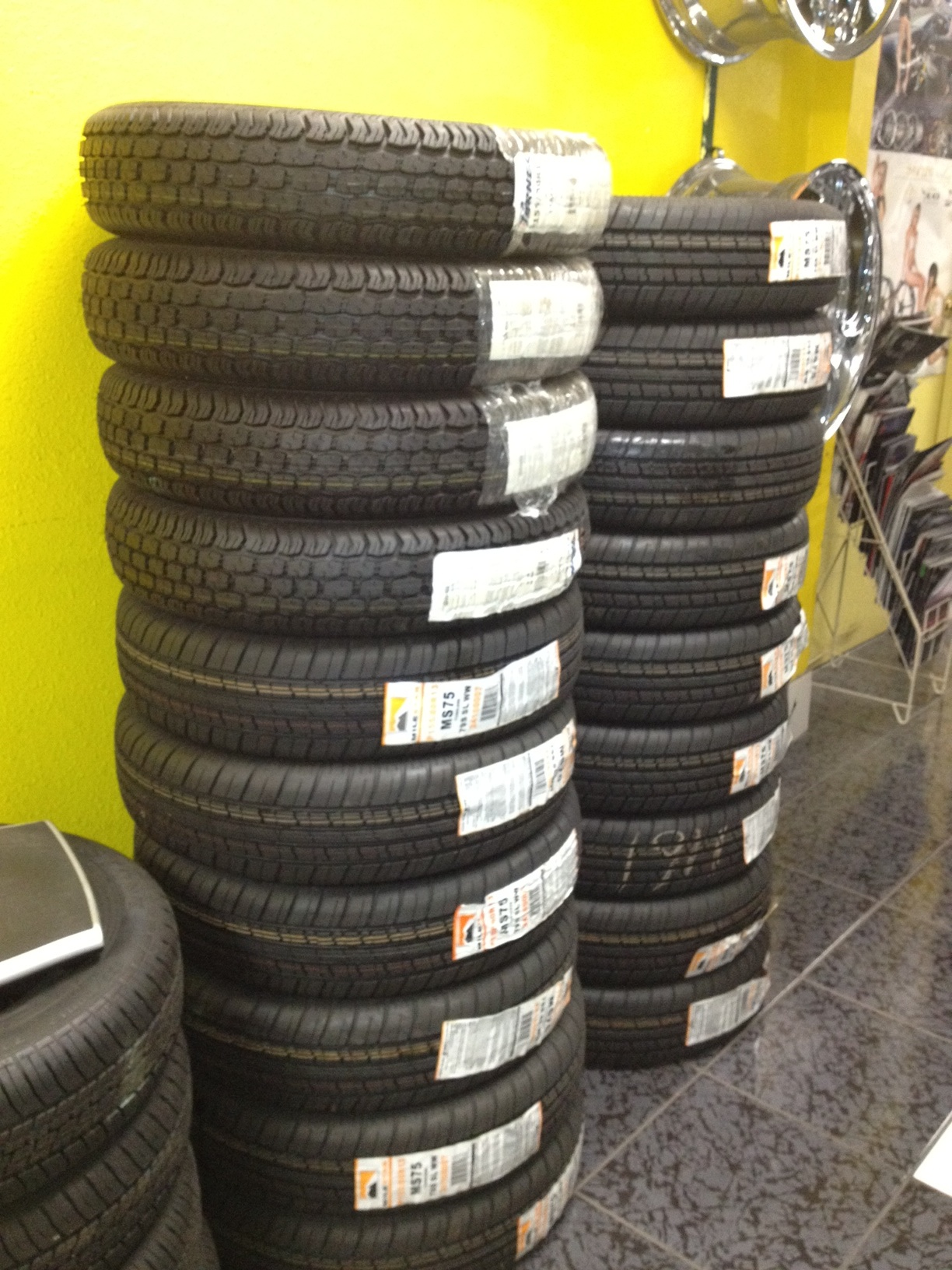 We are over stocked on 1558013 Tires  ALL MUST GOSince We Sell So Many Wheels Each Week Ple