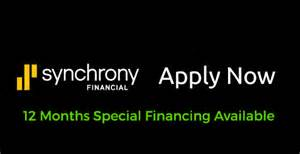 Special financing 12 months no interest with Synchrony bank 90 day no interest same as cash  val