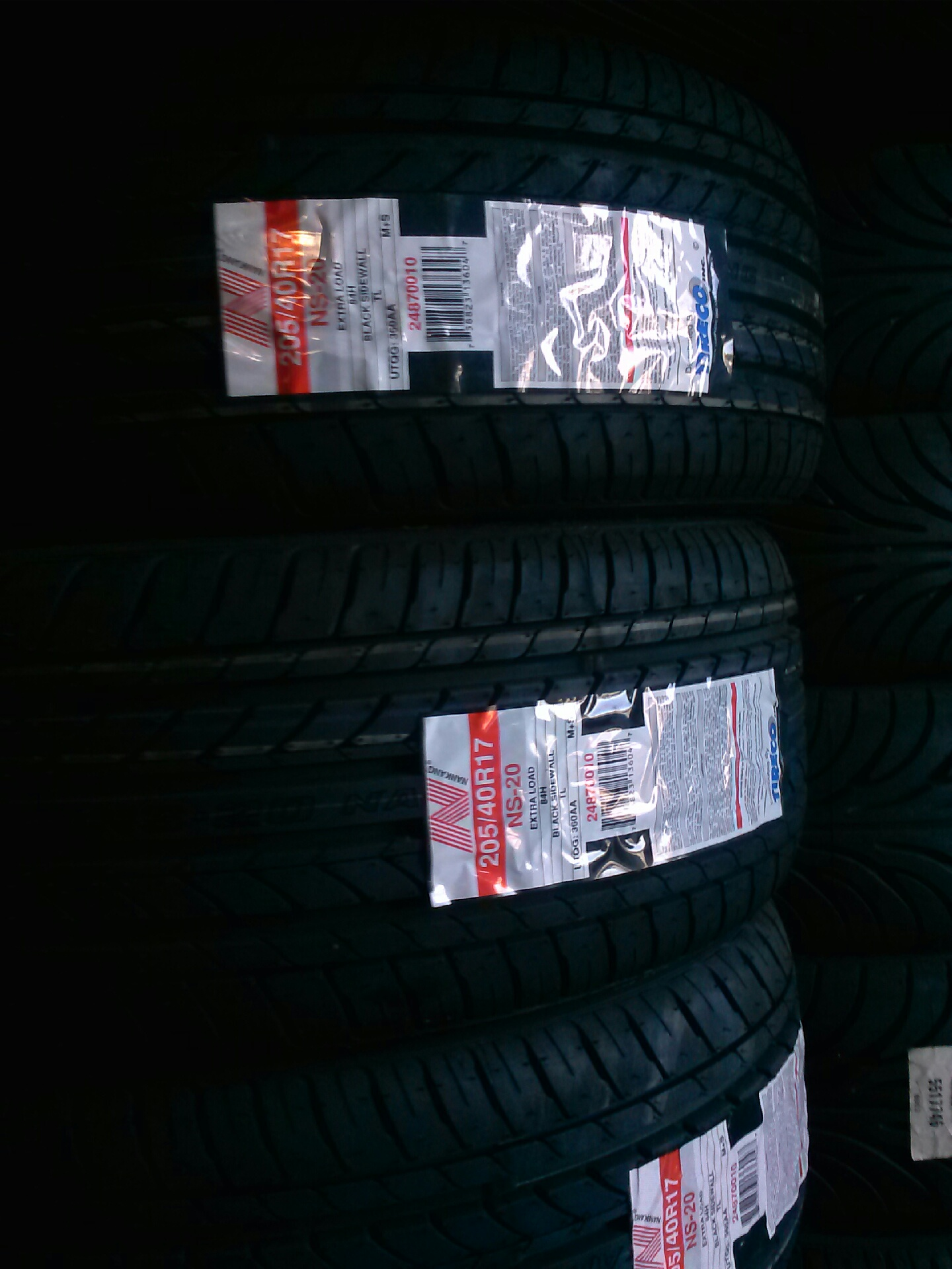 20540R17 Nankang tires on sale for 69 each We offer financing for 3 and 6 months no interest