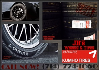 Kumho Tires  21545  ZR17  Looking for the best deals in custom wheel packages youve come to t
