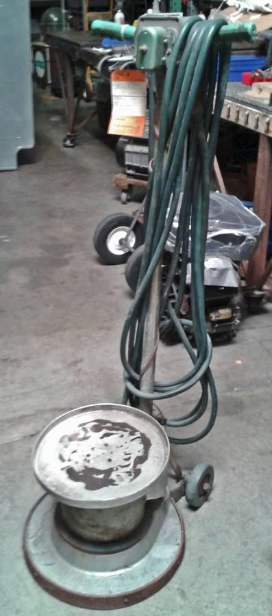 HILD DELUXE Floor Buffer Mach.