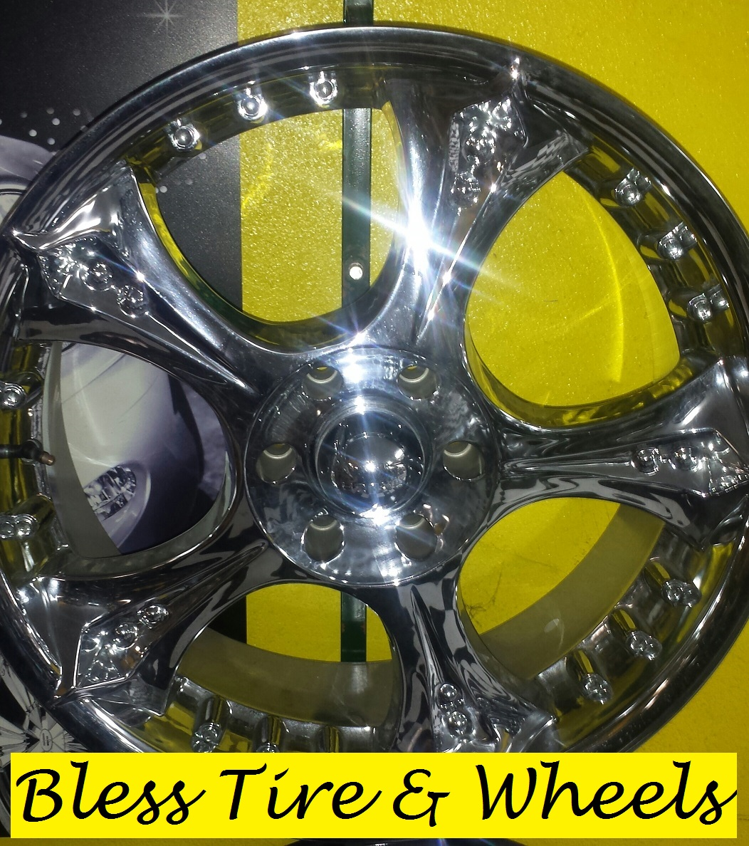Special on wheels Brand name Akuza 619 22 22x95 Bolt pattern 6x139TWO LOCATIONS Business w
