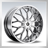 22 II CRAVE Wheels  Tire Package  Special Low Price  Available For Most All Cars That Fit 22