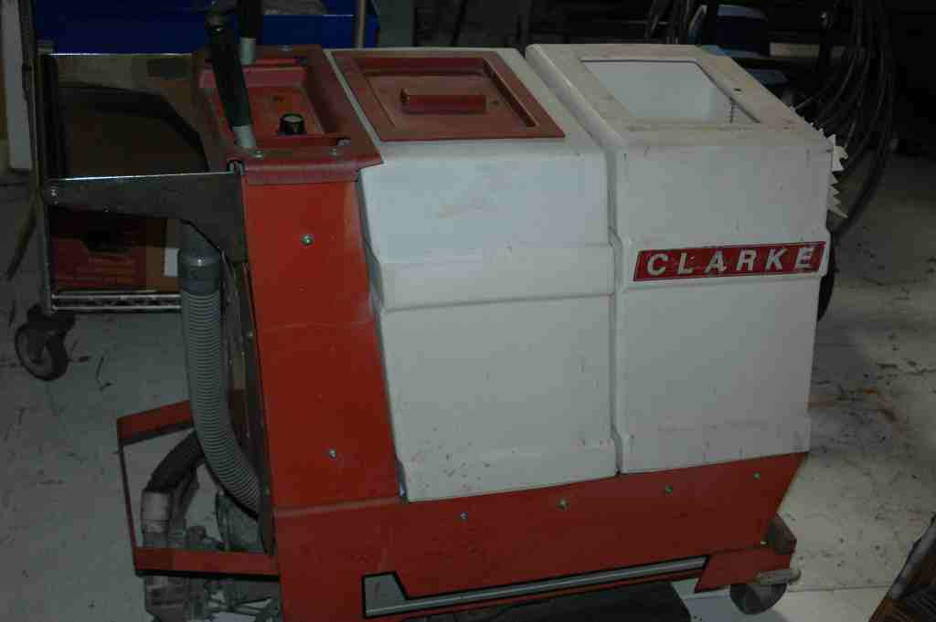 CLARKE MATIC Floor Scrubber