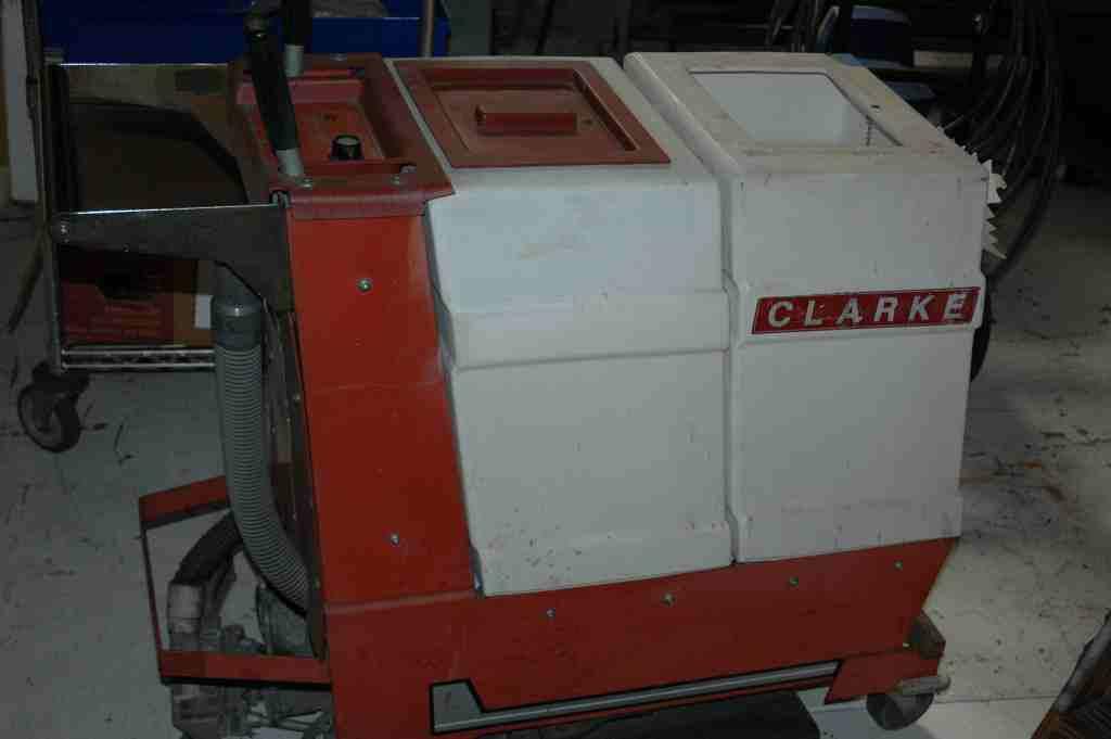 CLARKE MATIC TB20EL Walk Behind Floor ScrubberNew 2800Used 700PowerPlus Professional