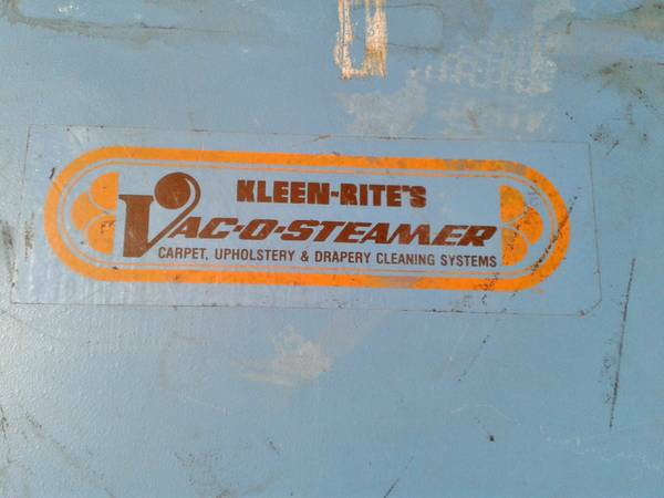 KLEEN RITE MACHINE DRY-CLEANING AND H20New 2700Used 350PowerPlus Professional Cleani