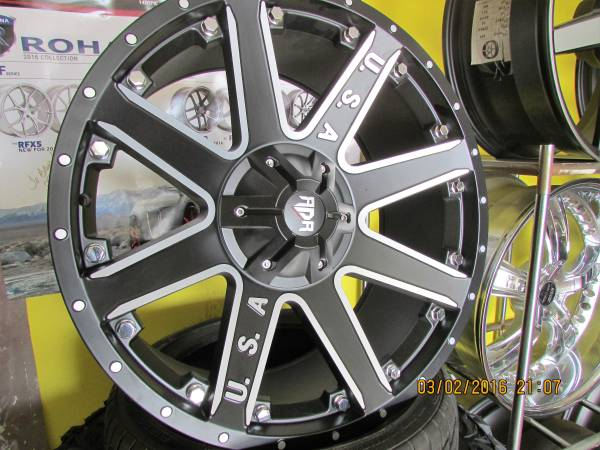 ADA Wheels & Tire package