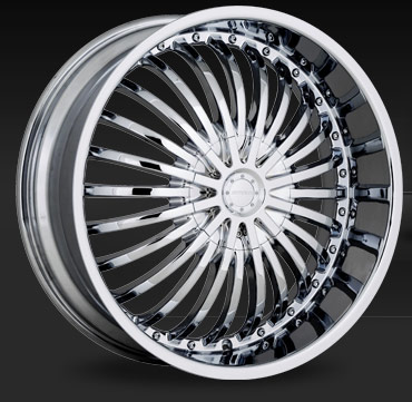 22 WHEELS CHROME FROM STRADA WHEELS CALLED SPINA AVAILABLE FOR DODGE CHARGERS MAGNUMS 300C AND BMW