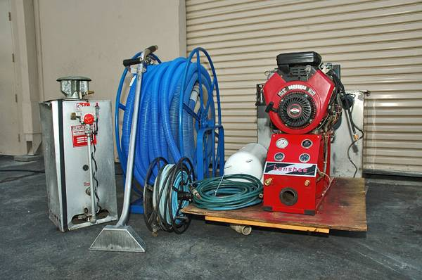 BANSHEE Truck Mount CARPET CLEANING MACHINE PackageThis is a rebuilt with a new frame and up 10
