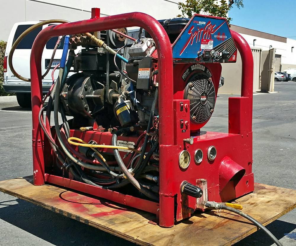 Hydramaster Spitfire 4 0 Truck For Sale Anaheim Ca