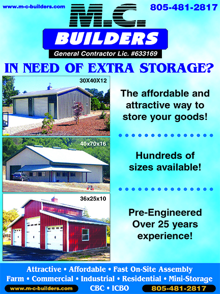 MC Builders Steel Buildings - In need of extra storage Call for FREE quotes The affordable and a