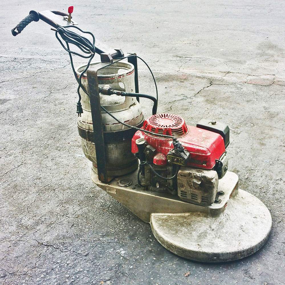 Propane Floor Burnisher Buffer