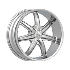 U2 WHEELS 55 in 24 chrome with a very deep lip for trucks like Silverados Tahoes Avalanche S