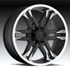 18 Wheels  Tires Package  From Forza In Chrome or Black  Made For Trucks Who Want That Off Road