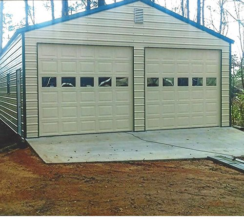 Budget Buildings Custom Garages call for prices 877 256 2829