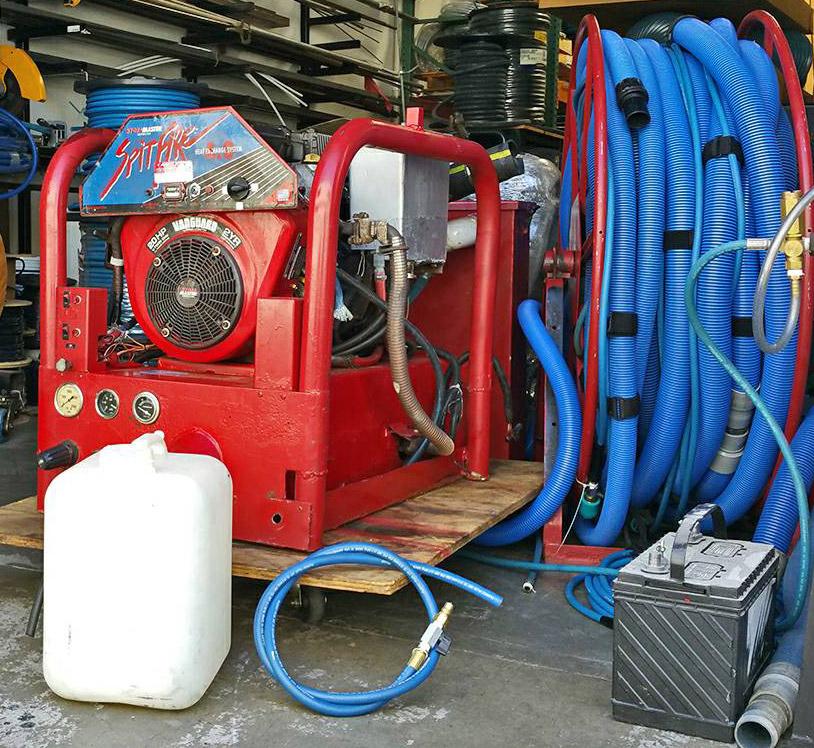 HydraMaster Spitfire 4.0 Truck