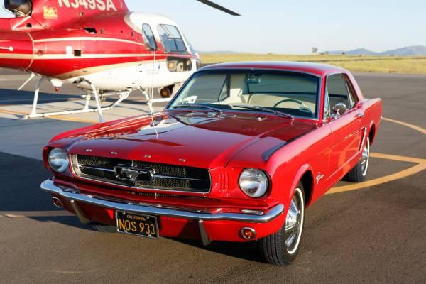 Restored 1966 Mustang