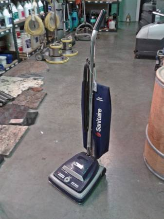 Sanitaire heavy duty upright commercial vacuum S647SPECIFICATIONS Power 7 amp Filtration Sta