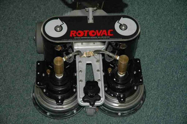 ROTOVAC POWER CARPET CLEANING