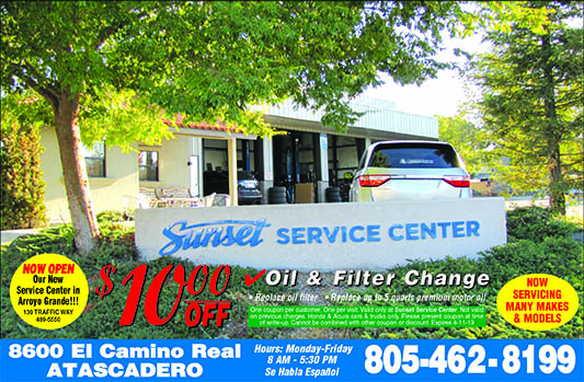 Sunset Service Center 10 off Oil  Genuine Honda Filter change coupon Now servicing many makes an