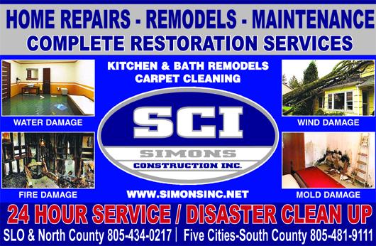 SCI Simons Construction Inc- Home repairs remodels maintenance Complete restoration services K