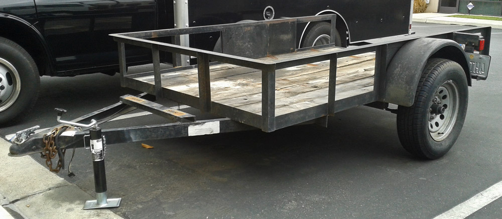 8 FT UTILITY TRAILER New 3700Used 1600PowerPlus Professional Cleaning Solutions