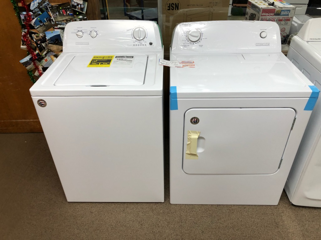 Come see Brad or Doug today at Howards Appliance for a brand new washer and dryer set that is new i