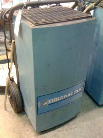 DRIZAIR 200 DEHUMIDIFIERS just serviced w warrantyNew 2650Used 1300PowerPlus Profes