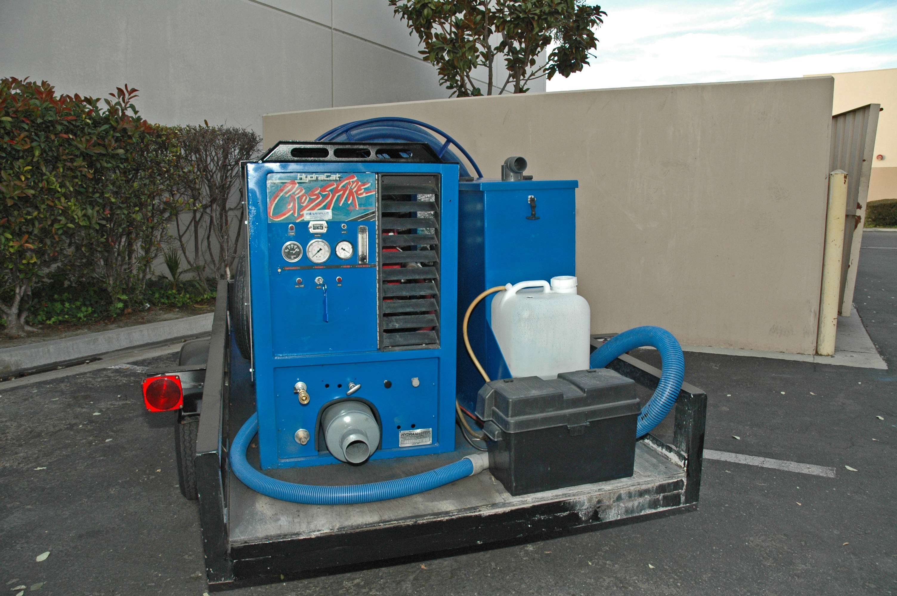 Hydramaster Crossfire Machine