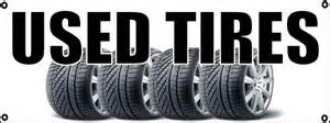 We offer a big selection of used tires all sizes Prices starting at 1500 and aboveCall or come i