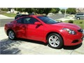 2012 Nissan Altima Coupe 25 S Automatic 4 Cylinder Red body Mp3cd player auxiliary AC Power