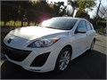 2010 Mazda Mazda3 HB 25 whiteblack automatic dealer 4cyl stereo cd clothe seats power stee
