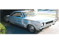 1967 Plymouth Belvedere 2 door 360 cu in automatic good project car black plates clean title