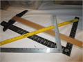 metal rulers and drafting table guide 2000 310-645-9708