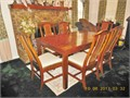 Basset Dining Room suite China Cabinet is from the Ming Collection  Table and 6 Cane Back chairs g