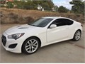 2013 Hyundai Genesis Coupe Used 81500 miles Private Party Coupe 4 Cyl White Black Excellent