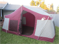 EXTRA LARGE White Stag Sierra 15 X 9 family cabin Tent  5 side walls waterproof canvas walls and