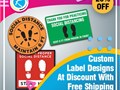 If you want to get label designing according to your requirements and specification than RegaloPrin