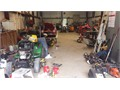 We welcome you to bring your knowledge of mechanics our small engine repair shop located convenientl