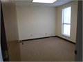 Bright office space available in a quiet suite  Office is approx 10 X 20 with closet shared lobby