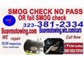 Boavmotowingcom STAR SMOG CHECK FOR CARS TRUCKS VANS DMV SERVICES INSPECTION BRAKE AND LAMP