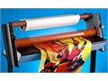 Daige Quickmount 438 Cold Laminator     Hard Silocone top and bottom nip rollers    Hea