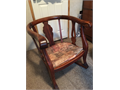 Antique rocker Needs reupholstered 150 obo Leave message if no answer