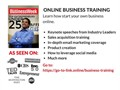 Join our 2 day business training summit Learn how to start your ownonline business Training incl