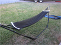 Portable Hammock 7 long x 36 wide adjustable steel frame great condition and works excellent nic
