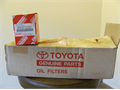 Toyota factory oem oil filters 90915-yzzfi have 8 they fit most pre2012 4 cyl 3000 OBO 3000 626