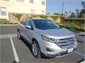 2018 Ford Edge SEL in great condition-like new Silver with black leather interior dual power heat