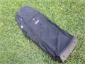 CASCADE  PADDED ROLLING GOLF TRAVEL BAG separate oversize zippered shoe pocket GREAT CONDITION use