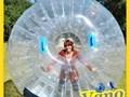 Zorbing Zorb Ball Human Hamster Ball Sphereing Zorbs ZorbingBallzcomZorb ball contains double lay