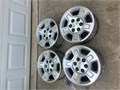 17 6lug Chevy wheels for sale All in good shape with center caps and lug nuts